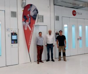 Interaction: Výstavba lakovny ve vývojovém centru Škoda Auto – Česana