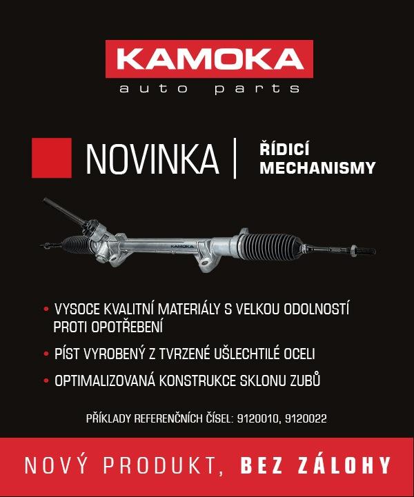 Novinka v nabídce KAMOKA - řídicí mechanismy