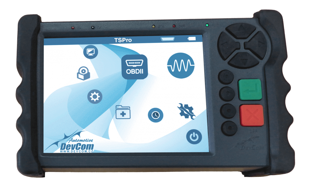 diagnostický přístroj TS Pro od DevCom