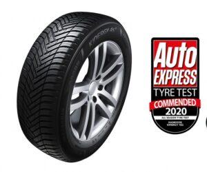 Celoroční pneumatiky Hankook Kinergy 4S 2 získaly ocenění