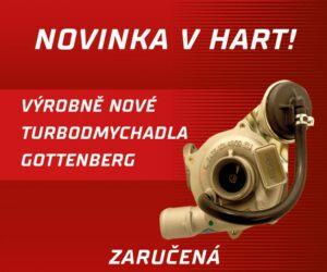 Gottenberg turbodmychadla v nabídce HART