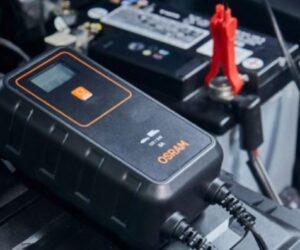 Nové nabíječky autobaterií Osram v nabídce firmy Stahlgruber