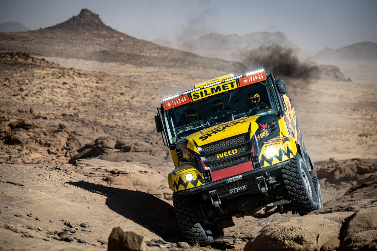 Big Shock! Racing tým na Dakar 2021