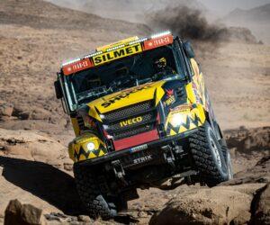 Interaction: Barvy Spies Hecker jsou opět k vidění na rallye Dakar