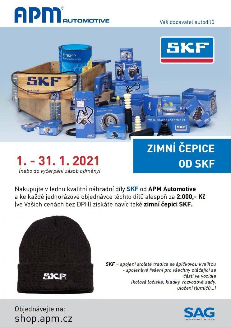 Swiss Automotive Group CZ (APM Automotive): Zimní čepice od SKF