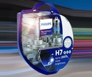 Novinka v nabídce Elán car: Autožárovky Philips RacingVision GT200