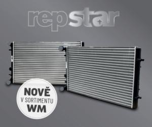 Firma WM Autodíly rozšířila nabídku o chladiče motorů Repstar