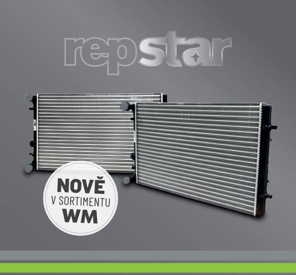 Chladiče motorů Repstar