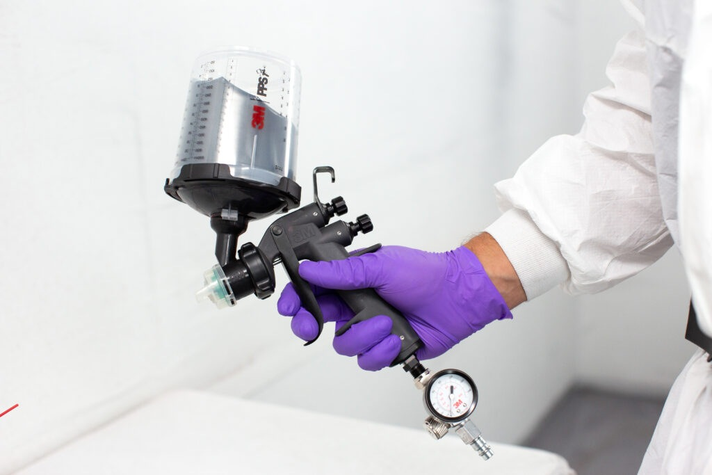 Interaction: Novinka 3M Performance Spray Gun