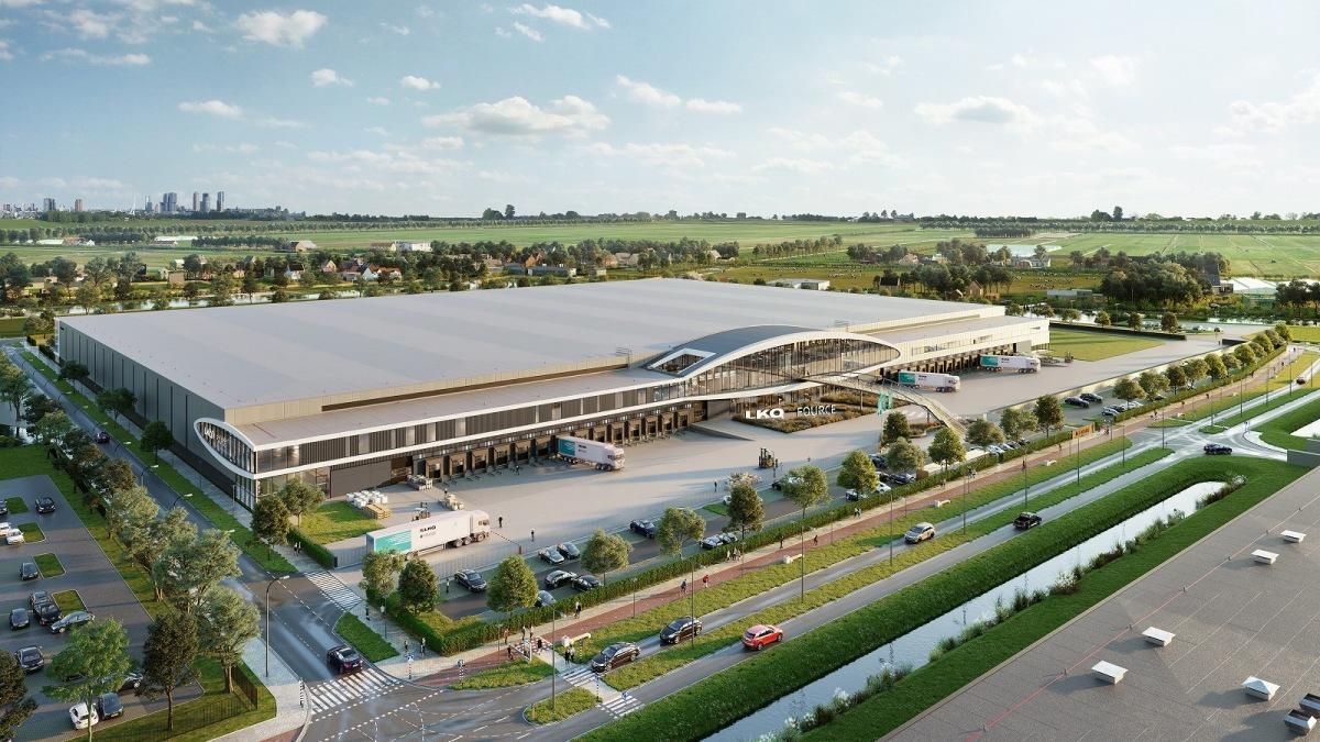 Nové LKQ distribuční centrum