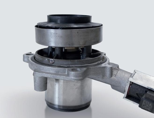 poškozená vodní pumpa u motorů VAG 1.6 a 2.0 TDI