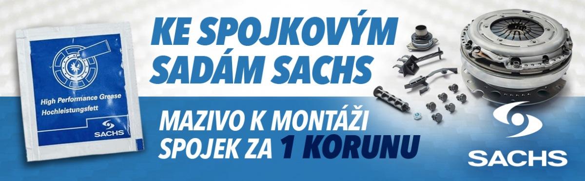 Sachs akce u J+M autodíly