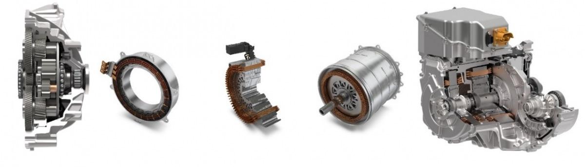 Schaeffler součástky pro elektromobily