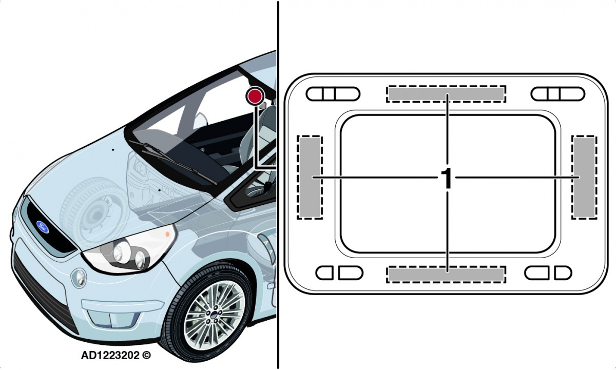 Autodata destovy senzor Ford S-Max