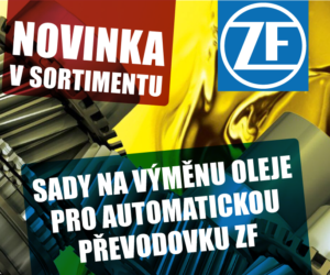 Sady na výměnu oleje pro automatickou převodovku ZF nově v nabídce AD Partner