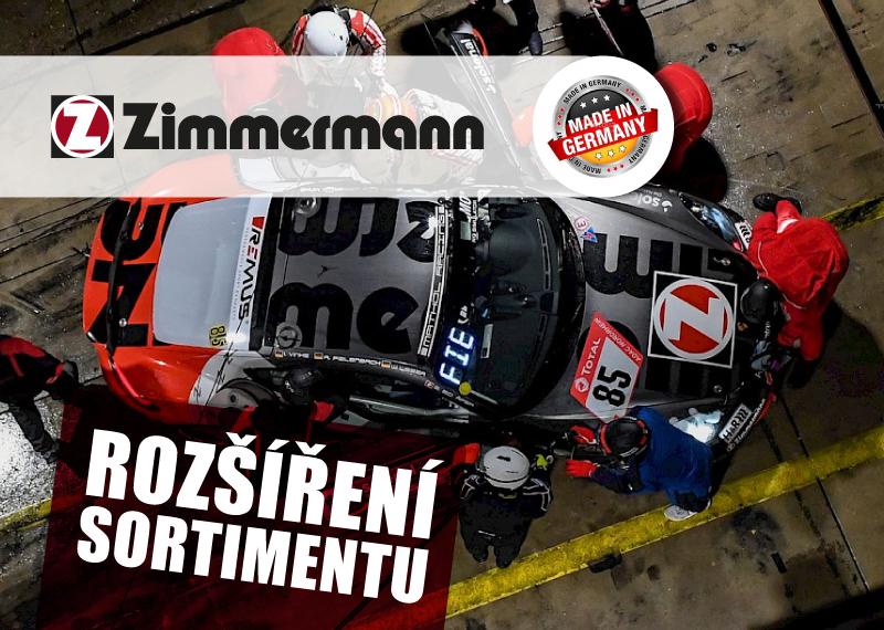 Rozšíření sortimentu Zimmermann