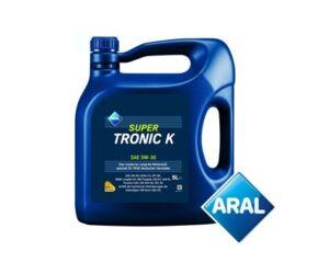 APM Automotive & Stahlgruber: Motorový olej ARAL SUPERTRONIC K 5W-30 je novinkou v sortimentu
