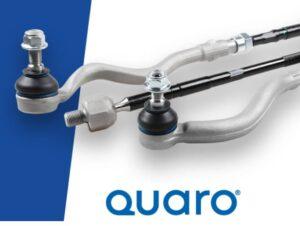 Nové díly řízení značky QUARO