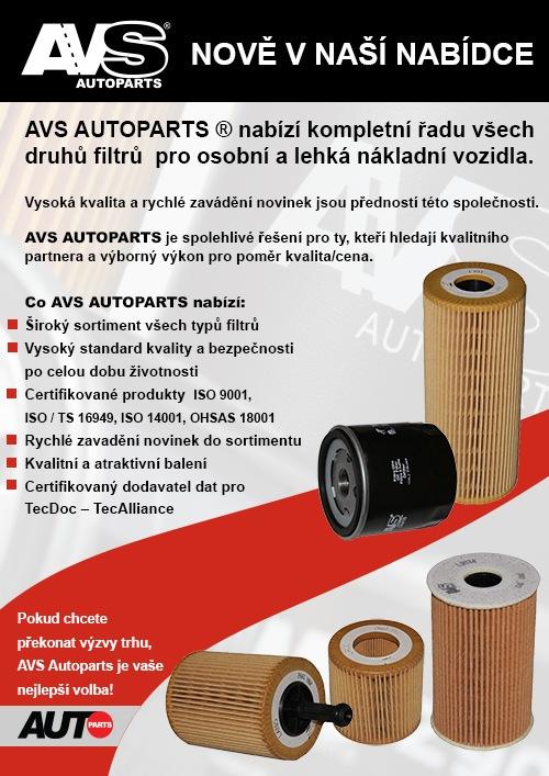 Nabídka AVS Autoparts