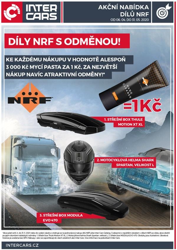Inter Cars: Díly NRF s odměnou