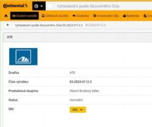 Continental představuje novou funkci online katalogu