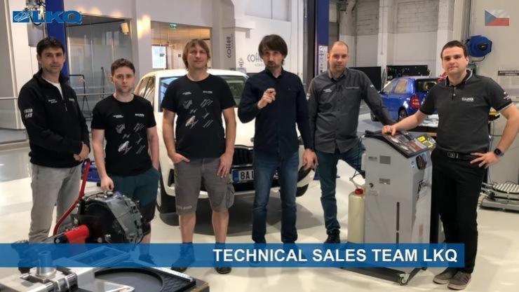 Technical team LKQ CZ