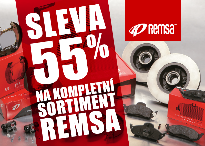 Akce na produkty Remsa u AD PARTNER