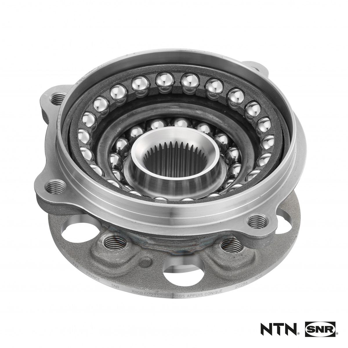 NTN-SNR ložisko nové generace s kompaktním homokinetickým kloubem