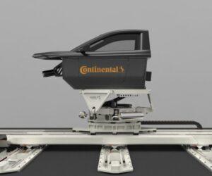Continental testuje pneumatiky na dynamickém simulátoru jízdy