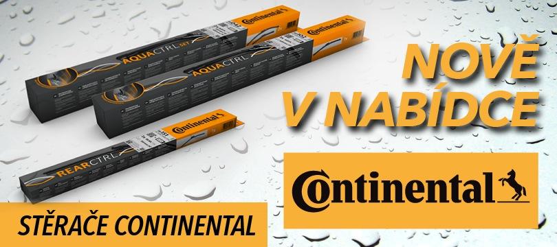 Continental stěrače u J+M autodíly