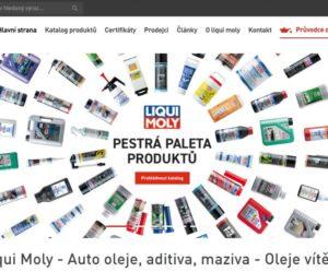 Firma Liqui Moly spustila nové webové stránky