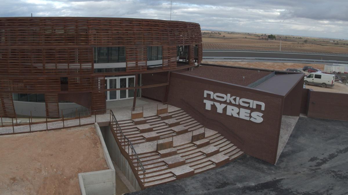 Nokian testovací centrum ve Španělsku