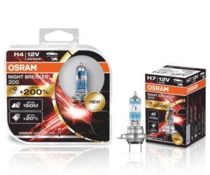Halogenové autožárovky Osram Night Breaker 200