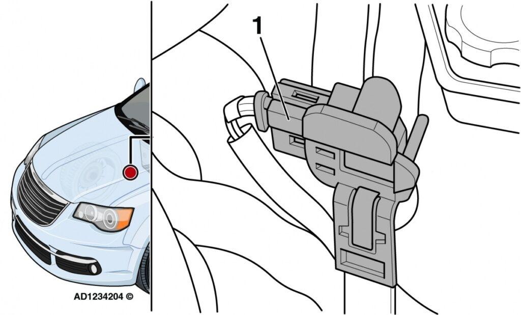 Chrysler Grand Voyager: svítící kontrolka poruchy motoru