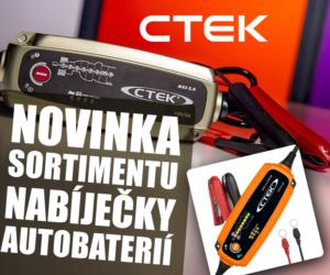 Nabíječky autobaterií a příslušenství CTEK v nabídce AD Partner