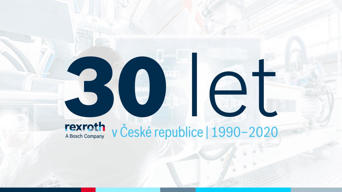 Průmyslová technika zastoupená divizí Bosch Rexroth