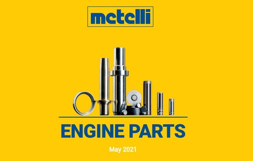 Nový katalog motorových dílů Metelli