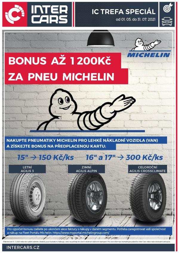 Inter Cars akce na pneumatiky Michelin