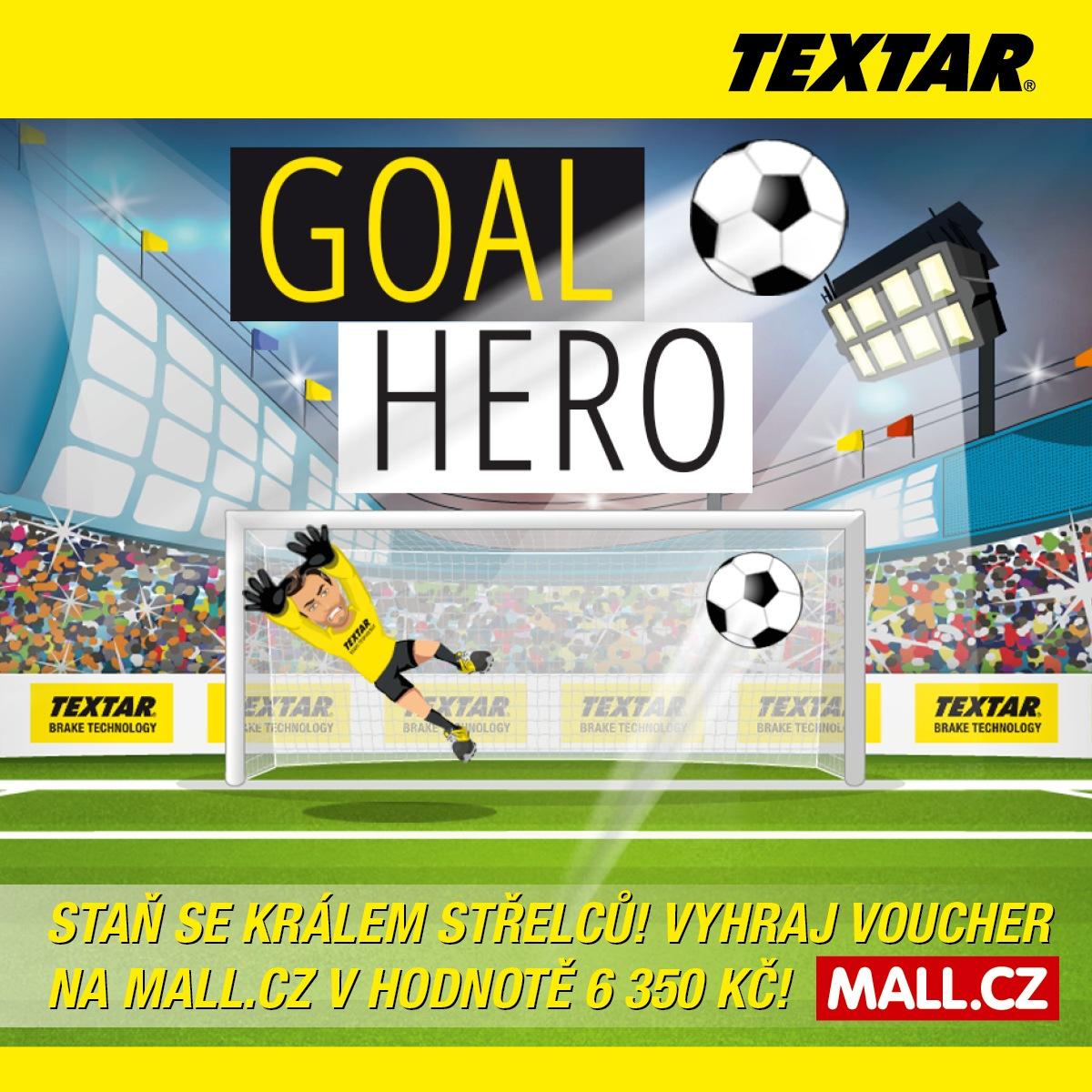 online hra Textar Goal Hero