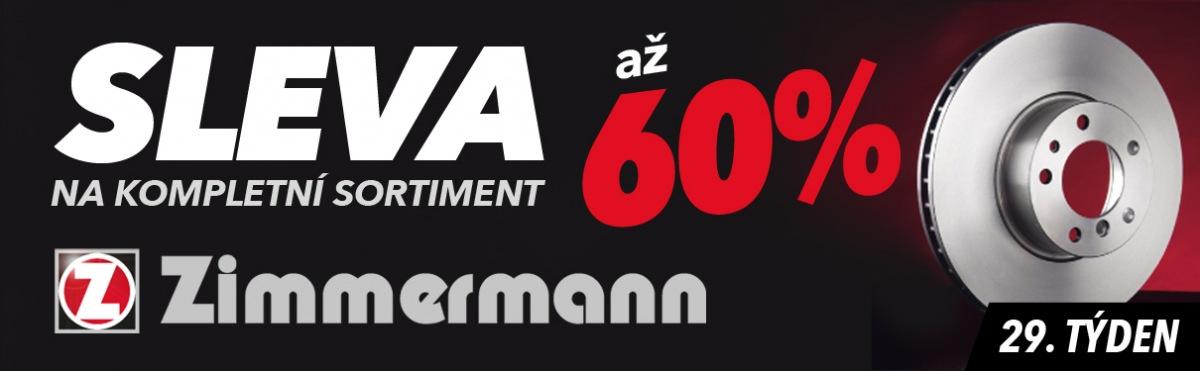 Akce na Zimmermann díly u J+M autodíly