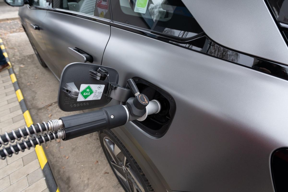 Automobil na vodíkový pohon