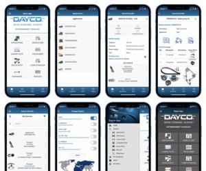 Společnost Dayco aktualizuje aplikaci Mobile Catalog 7.0