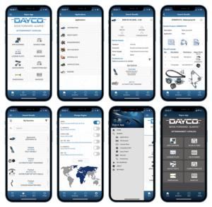 Mobilní aplikace Dayco