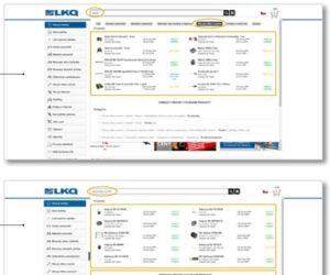 Vylepšené vyhledávání na e-shopu skupiny LKQ CZ