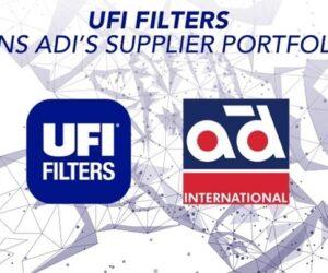 Společnost UFI Filters se připojuje k síti Autodistribution International (ADI)