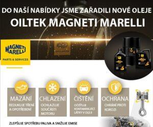 Oleje Oiltek Magneti Marelli v nabídce Autoparts