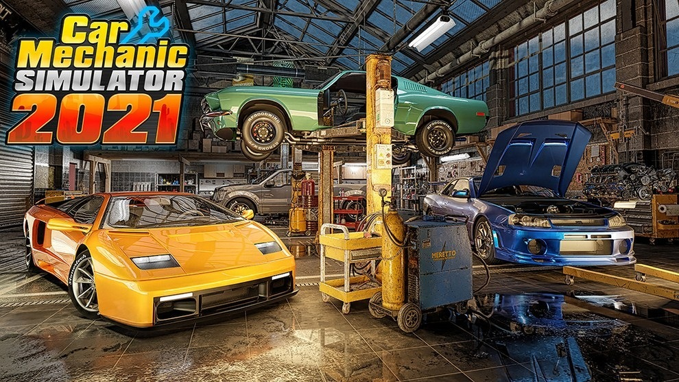 Hra Car Mechanic Simulator 2021