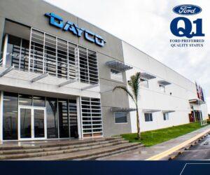 Severoamerický závod společnosti Dayco získal certifikaci Ford Q1
