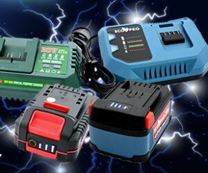 Samostatné baterie a samostatné nabíječky u firmy FERDUS