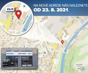 Pobočka ELIT v Sušici se stěhuje na novou adresu